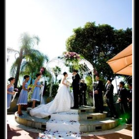 Universal Hilton Wedding Ceremony