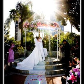 Universal Hilton Wedding Ceremony Photographer