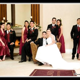 Long Beach Grand Wedding Party Photography