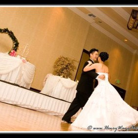 San Gabriel Hilton Wedding Reception Photographer