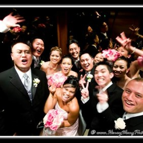 San Gabriel Hilton Wedding Ceremony Photographer
