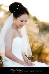 Pasadena City Hall Sunset Bridal Portrait Engagement Pictures