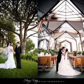 Wayfarers Chapel Wedding Photographer | Henry Wang Photography