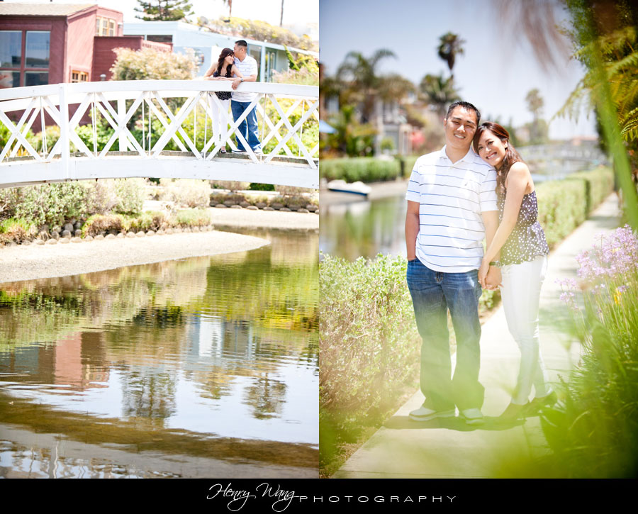Venice Beach Canal Wedding Engagement Photo E-Session Photography
