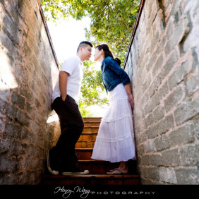 Malibu-Adamson-House-Wedding-Engagement--Picture