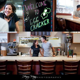 Egg-Cracker-Diner-Restaurant-Engagement-Session