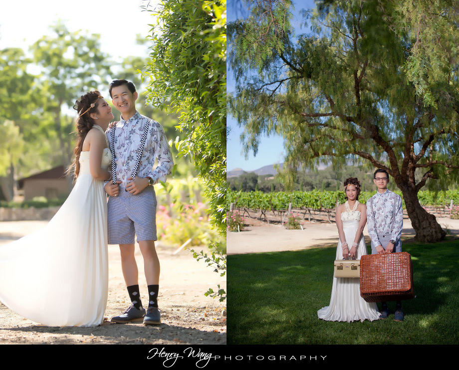 Solvang-Fess-Parker-Winery-Vinyard-Vintage-themed-Wedding-Engage