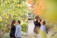 Mini Golf Park and Old Town Pasadena Sunset Engagement Session Photos