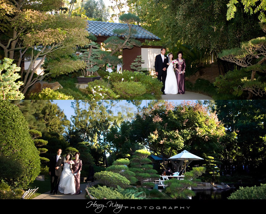 Cal State Long Beach EBM Japanese Garden Wedding Ceremony | Alice ...