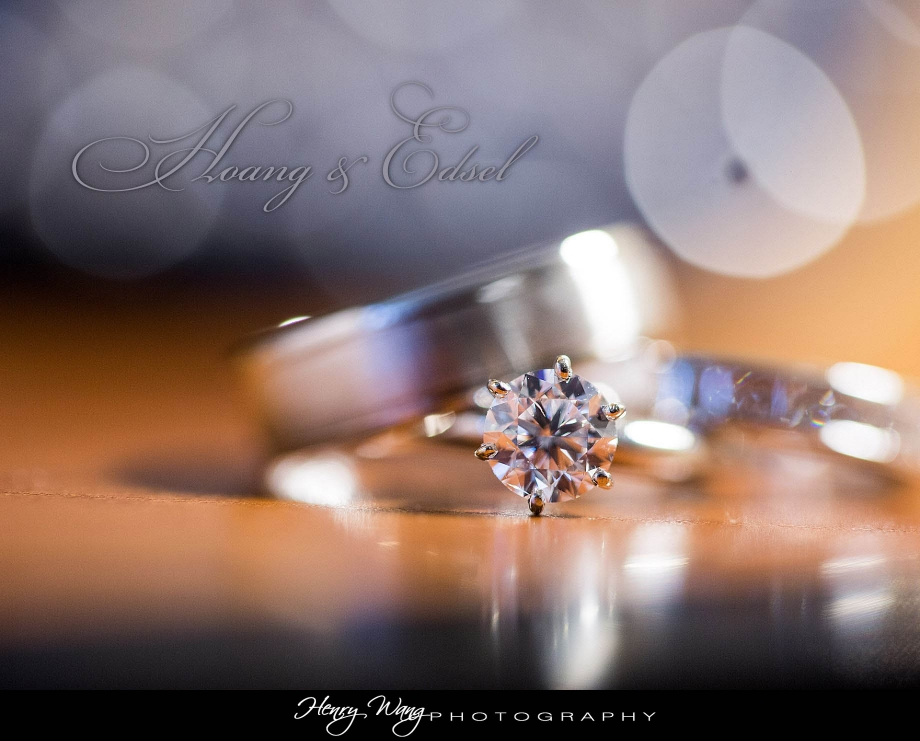 Crystal Cathedral | Embassy Suites Anaheim | Hoang & Edsel Wedding